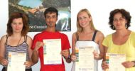 fu language students with certificate